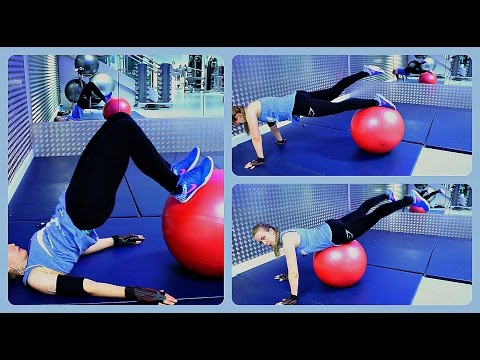 Best Exercises for Glutes, Hamstrings and Quads | Stability Ball