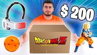 ABRINDO UMA CAIXA MISTERIOSA DE $200 DO DRAGON BALL !!