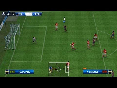 Pro Evolution Soccer 2014┇Gameplay [PSP]