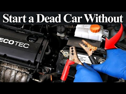 How to hook up a dead car battery
