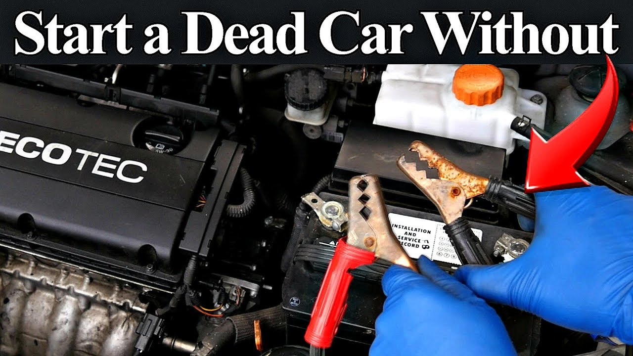 How To Start A Car With A Dead Battery >> 3 Easy Tricks To Start A Dead Car Without Jumper Cables