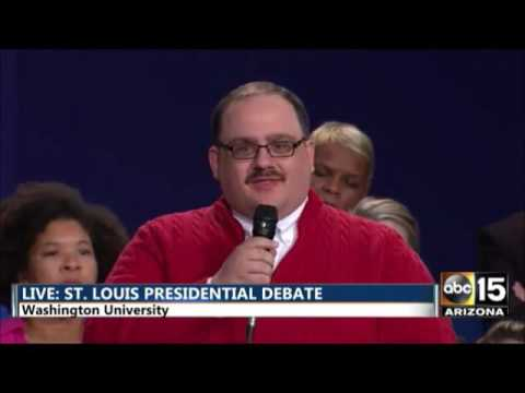 Ken Bone Question - St. Louis Debate (#Bonezone) - YouTube