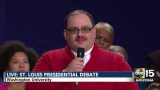 Ken Bone Question - St. Louis Debate (#Bonezone)