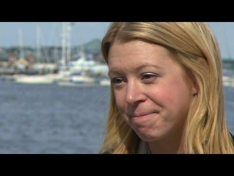 Boston bombing survivor's emotional journey