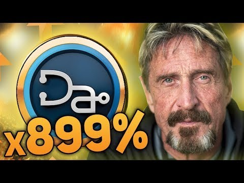John McAfee Top 3 Altcoins That Will Moon In 2019 (x100!?!?)