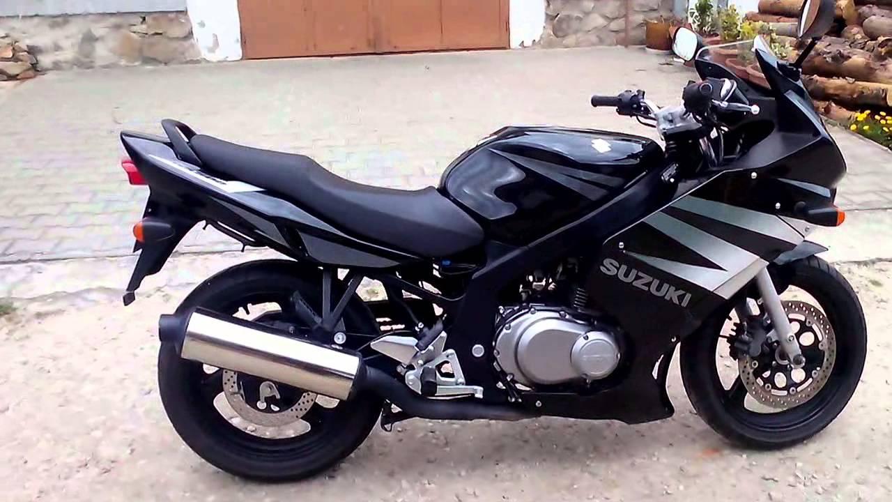 Suzuki GS 500 F (2004) reichMoto.cz - YouTube