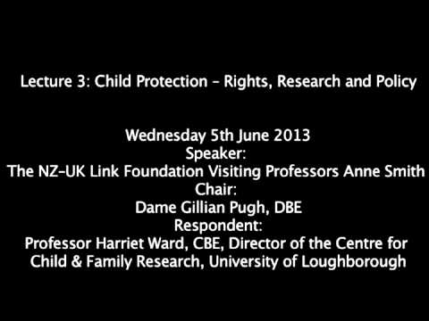 Child Protection -- Rights, Research and Policy