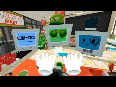 СИМУЛЯТОР РАБОТЫ #2 - устроилась работать ПРОДАВЦОМ в игре Job Simulator