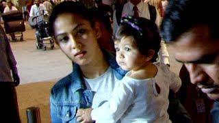 Shahid Kapoors daughter Misha FIRST VIDEO with mom Mira Rajput