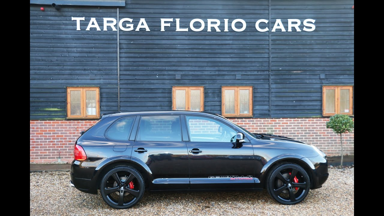 porsche cayenne gemballa 4 5 v8 turbo at targa florio cars in sussex youtube. Black Bedroom Furniture Sets. Home Design Ideas