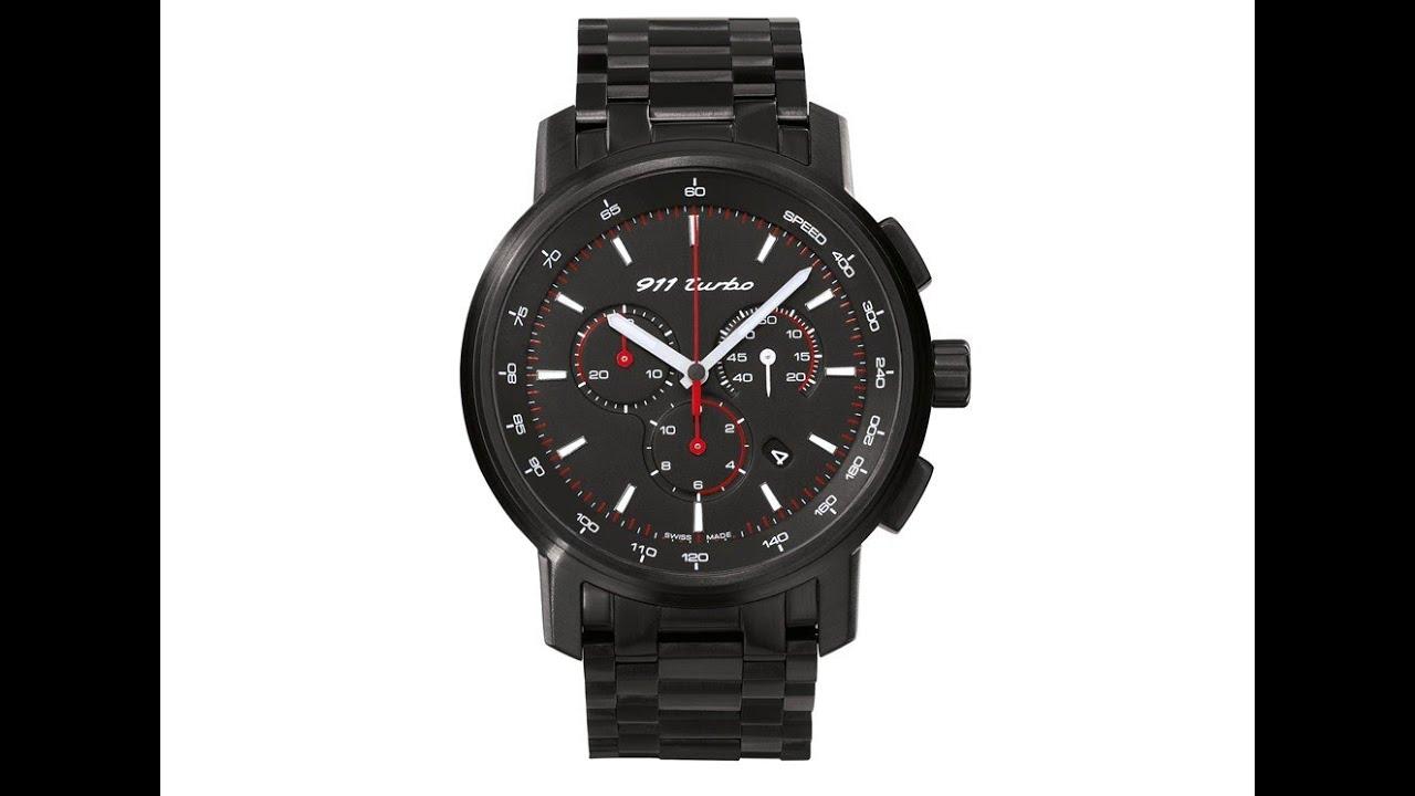 Porsche Watch  911 Turbo Classic  Porsche Design Watches