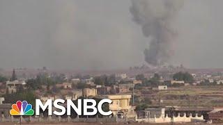 Trump Syria Flip Greenlights Turkey, Russia On Kurdish Slaughter | Rachel Maddow | MSNBC