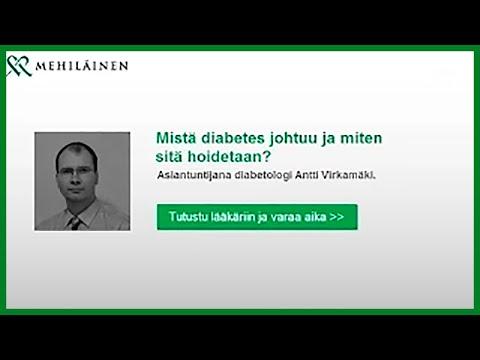 Diabeteksen tunnistaminen ja oireet - mistä diabetes johtuu?