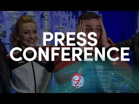 Pairs Overall Press Conference - Milano 2018