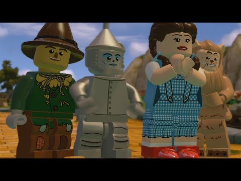 LEGO Dimensions - Follow the Yellow Brick Road 100% Guide (All Mini Kits/Character in Peril)