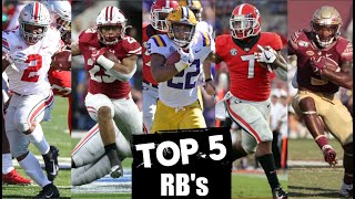 2020 NFL Draft Prospect Rankings: Running Backs | Blitzalytics Top 5 Draft Prospect Series