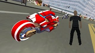 Future New York Motorcycle 3D (by MobileGames) Android Gameplay [HD]