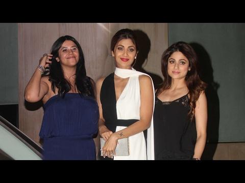 Ekta Kapoor's Grand House Party 2017 - Shilpa Shetty,Sushant Singh Rajput