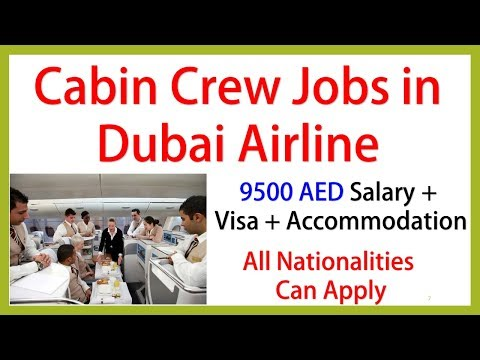 DUBAI AIRLINE NEEDS CABIN CREW || SALARY 9500 AED || JOBS IN DUBAI
