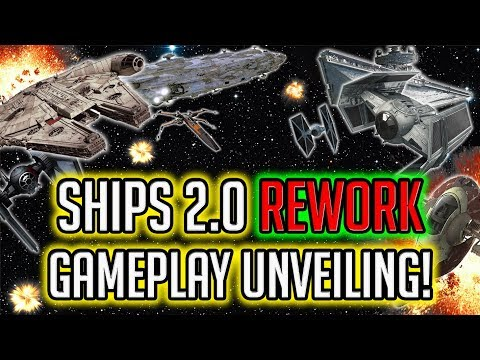 Ships 2.0 Rework Gameplay Unveiling! New Abilities, Hardware, + More! | Star Wars: Galaxy of Heroes