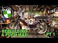 Puch Maxi Ls   Moped Rebuild   Pt 1