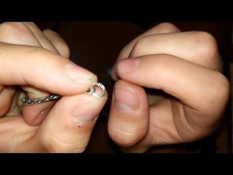 Как укоротить цепочку на шею в домашних условиях