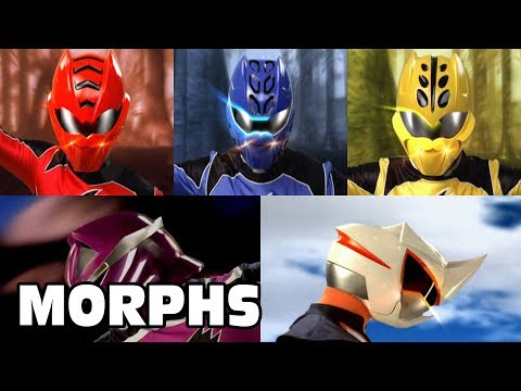 Power Rangers Jungle Fury - All Ranger Morphs | Episodes 1-32 | It's Morphin Time | Superheroes