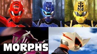 Power Rangers Official | Jungle Fury - All Ranger Morphs