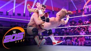 Trey Baxter vs. Andre Chase: WWE 205 Live, Sept. 17, 2021