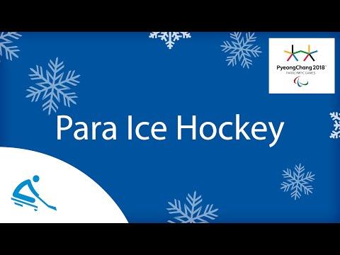 Canada v USA   Gold medal game  Ice hockey   PyeongChang2018 Paralympic Winter Games