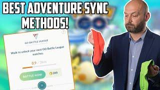 Best Method To Gain Distance In Pokemon Go! Adventure Sync Is Broken