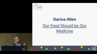 Renowned chef Darina Allen speaking at RCPI public meeting