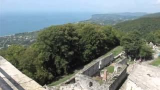 Анакопийская крепость, Новый Афон, Абхазия(Анакопийская крепость, Новый Афон, Абхазия, travel-theworld ..., 2013-11-06T17:15:58.000Z)