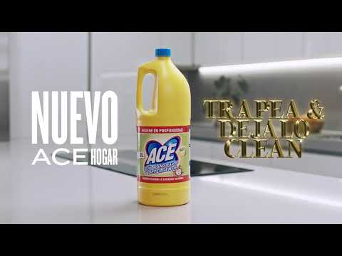 ACE quiere rejuvenecer su target con 'Trapea y déjalo clean'