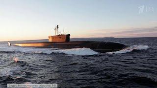 Новейшая атомная подлодка ''Князь Владимир'' впервые провела пуск баллистической ракеты ''Булава''.