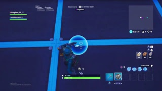 Playing Fortnite Creative doing 1v1´s (with the new skins and studded axe)