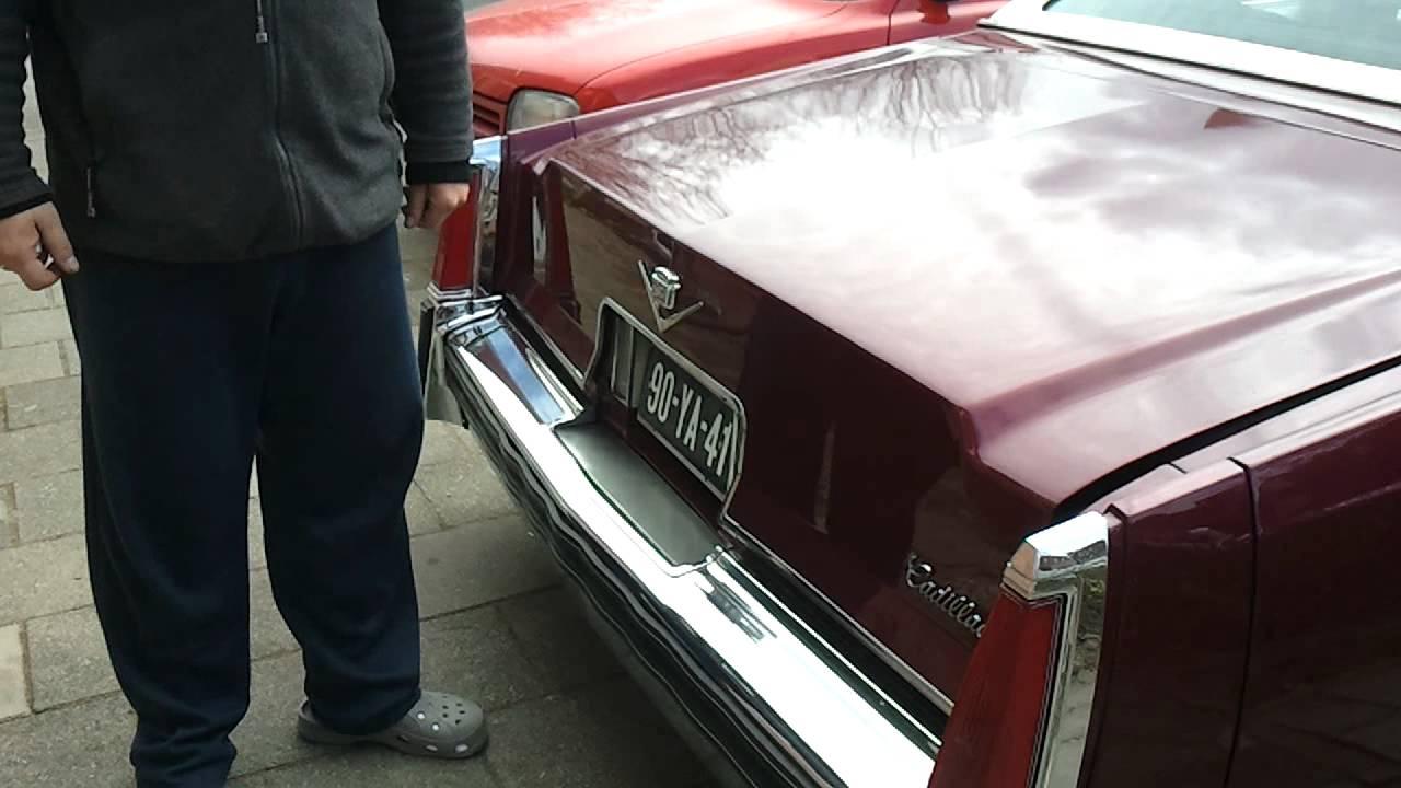 96 cadillac deville trunk wont close