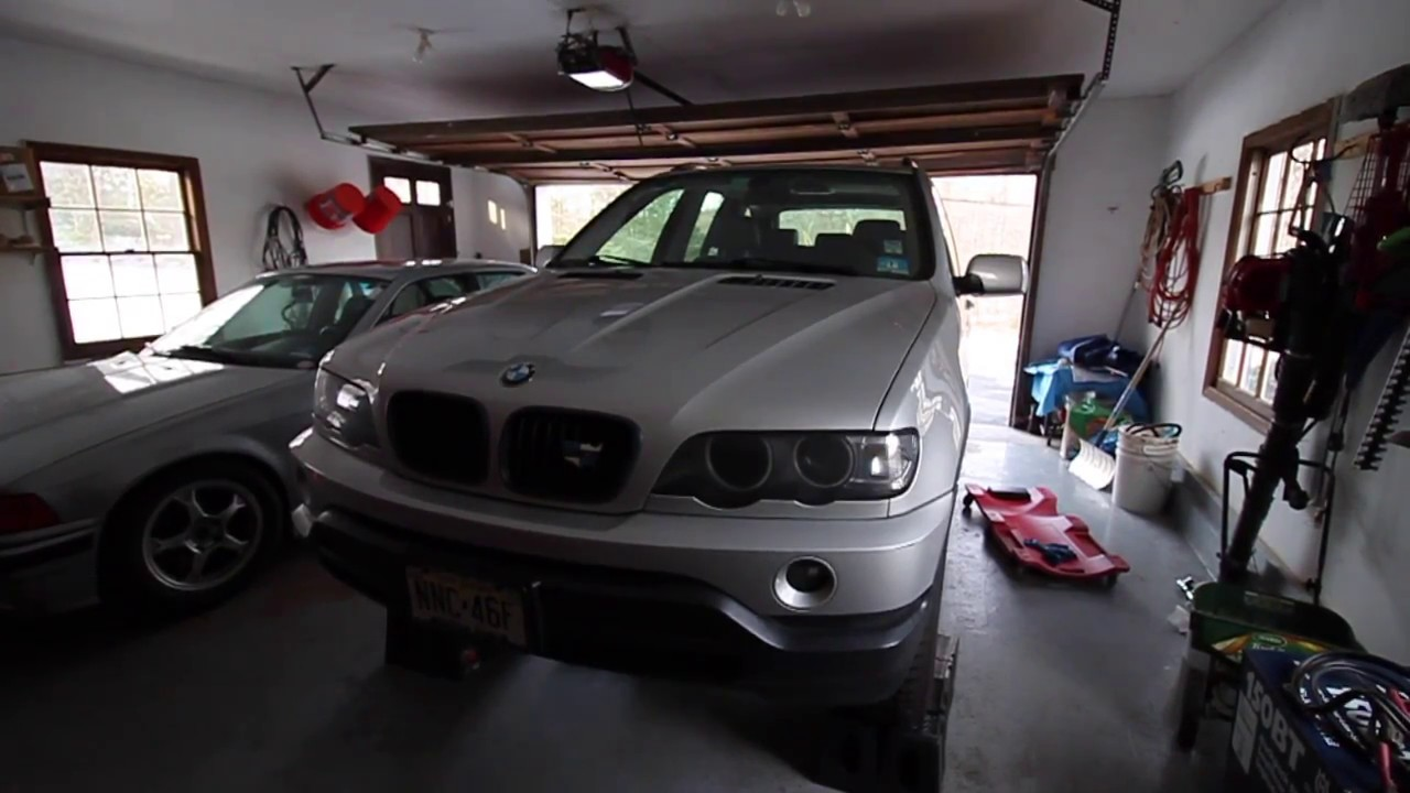 bmw x5 transmission fluid check