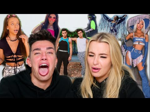 ROASTING YOUTUBER COACHELLA OUTFITS ft. James Charles