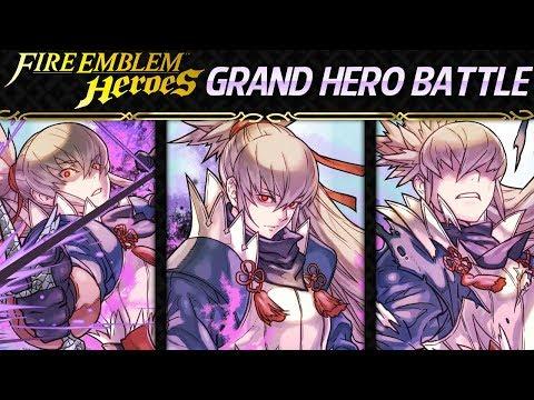 Fire Emblem Heroes - Grand Hero Battle: Takumi INFERNAL+Lunatic [F2P Friendly Guide, 3 Solutions]