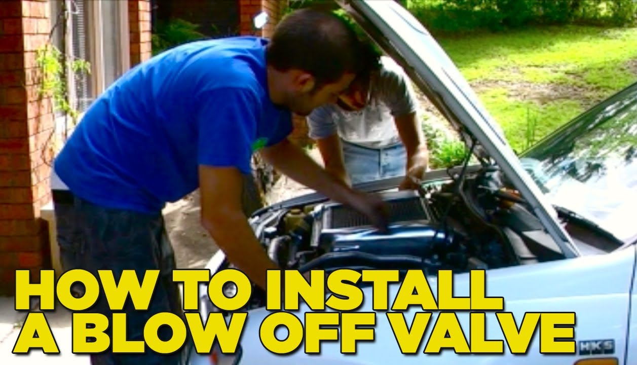 hight resolution of how to install a blow off valve diy