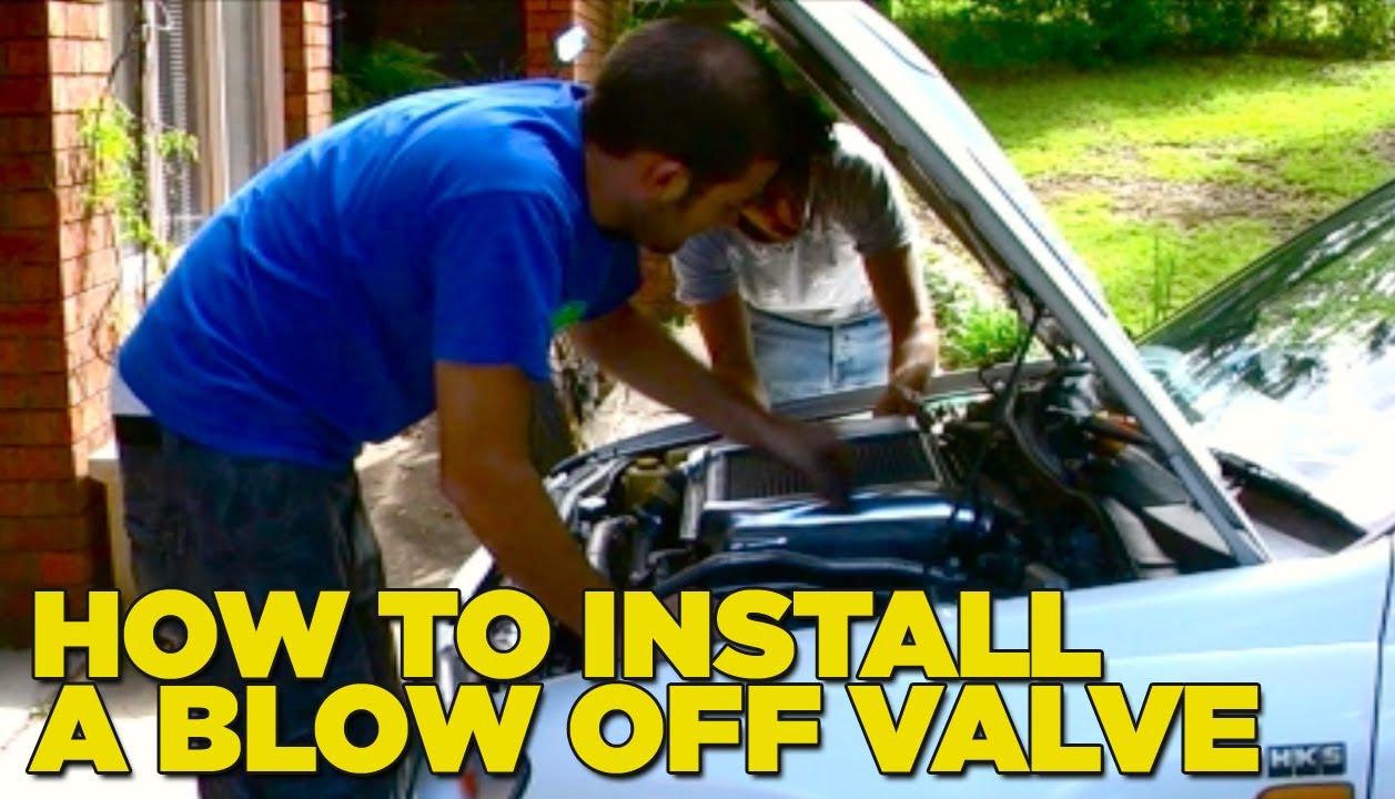 medium resolution of how to install a blow off valve diy