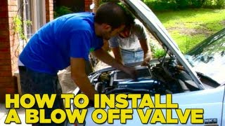 How To Install a Blow Off Valve DIY
