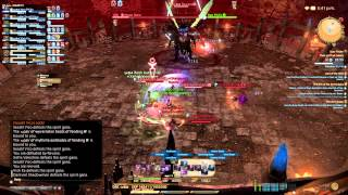 PS4 FINAL FANTASY XIV: HEAVENSWARD GAMEPLAY - THOK AST THOK (RAVANA - HARD)