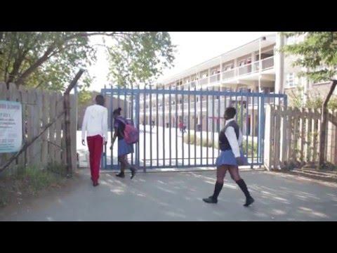 MOTIVATING AT AURORA GIRLS HIGH SCHOOL (ZOLA, SOWETO)