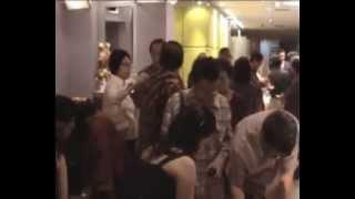 REUNI SMA KATOLIK CENDRAWASIH RAJAWALI  MAKASSAR DI JAKARTA, 5 MEI 2012 DI HOTEL BOROBUDUR bgn 1