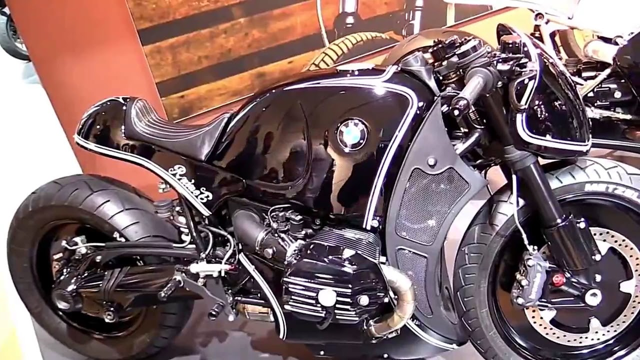 2017 BMW R NineT Highway Fighter Mod Special Series Pro Lookaround Le Moto  Around The World