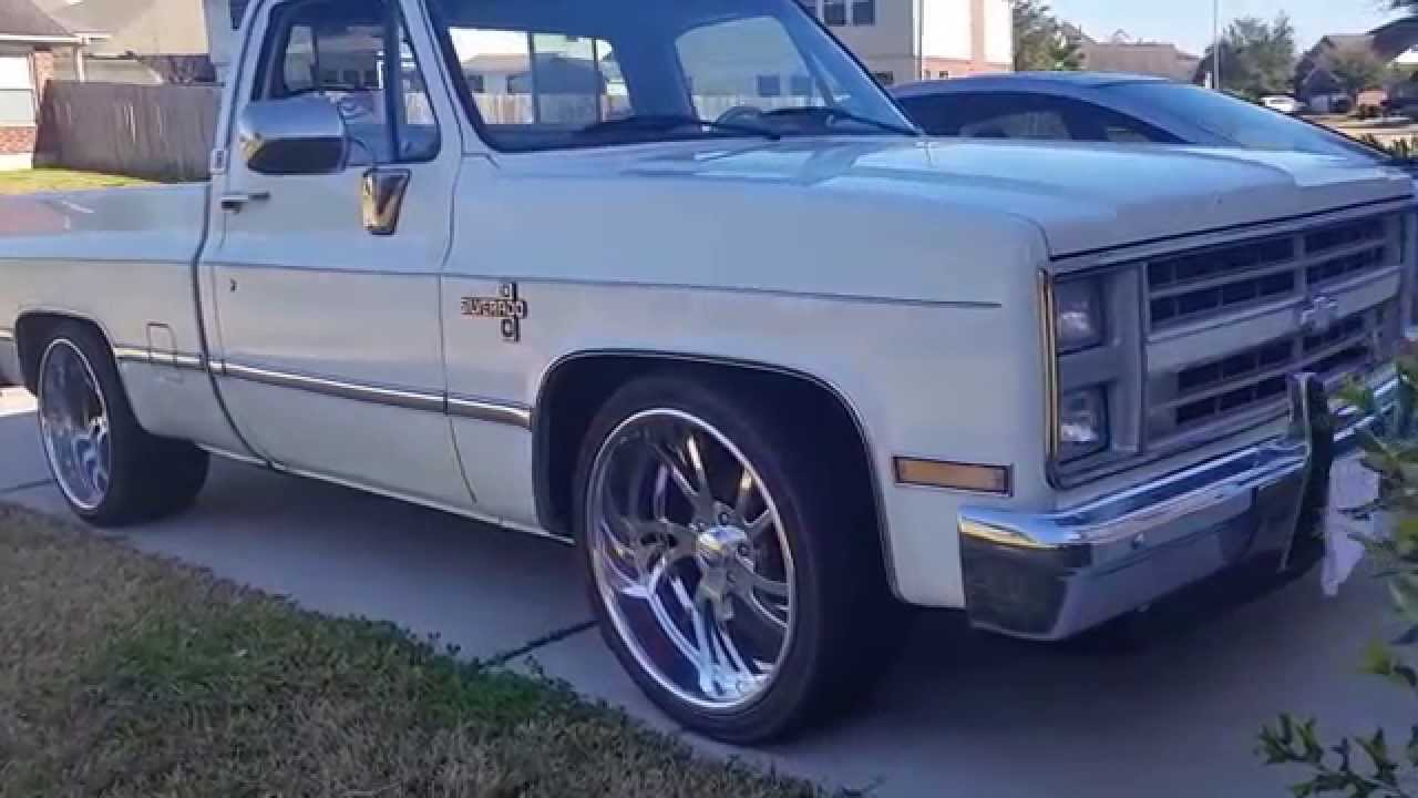 1987 chevy c10 silverado - YouTube