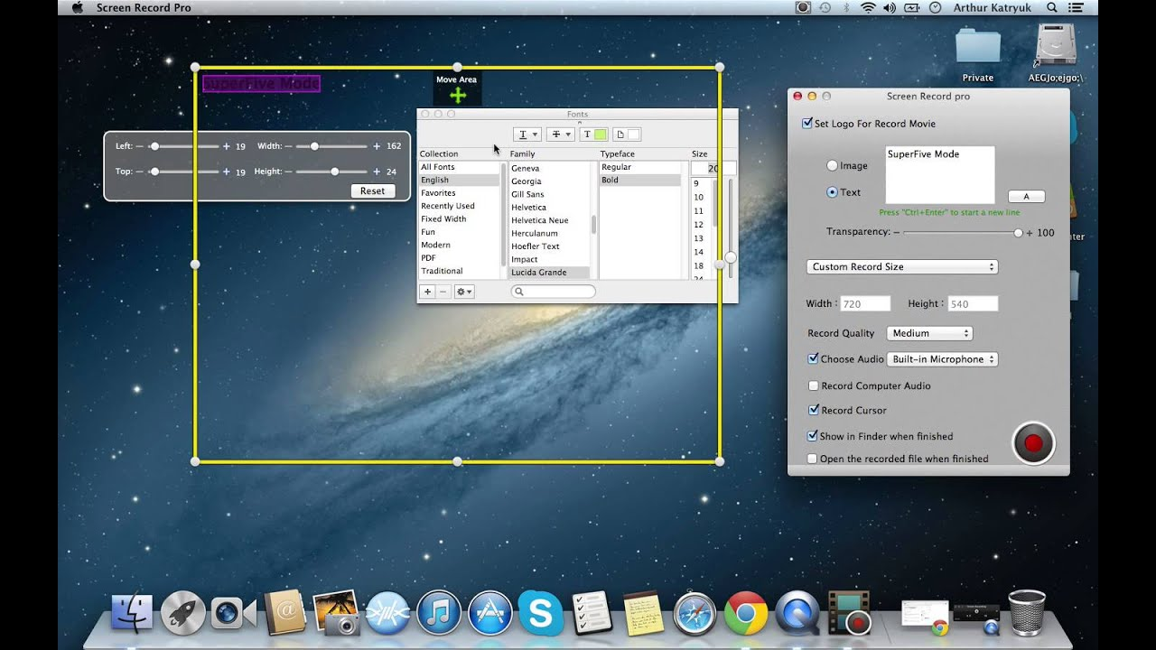 On Screen Recording Software For Mac