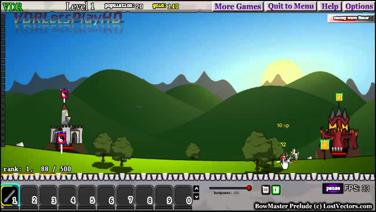 Play BowMaster a free online game on Kongregate
